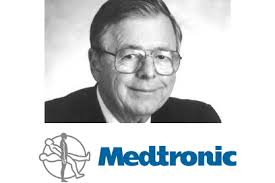 Medtronic founder has a pacemaker